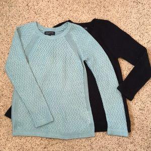 Blue Knit Sweaters